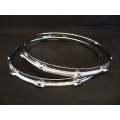 2.3mm Chrome Triple Flange Hoop